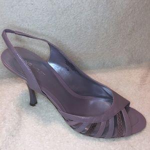 Nine West Peep-toe Light Purple Heels Size 10